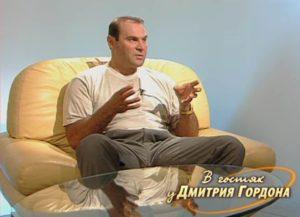 Piszarenko 2002-ben Dimitrij Gordon műsorában.