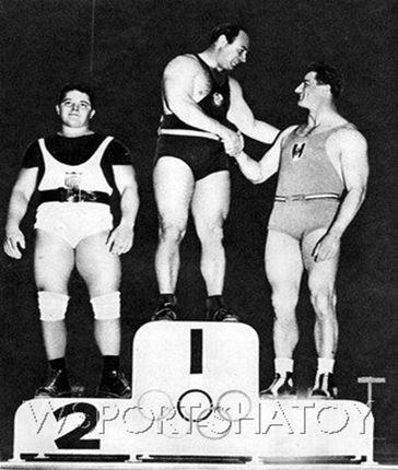 A.N. Vorobjev az olimpiai dobogó csúcsán