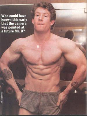 Adorján 21 évesen, amikor még senki nem gondolta, hogy Mr Olimpia lesz.